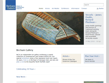 Tablet Preview of birchamgallery.co.uk